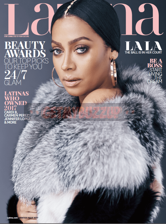 La La Anthony Graces Cover of Latina Magazine's Winter Issue [Magazine Cover]