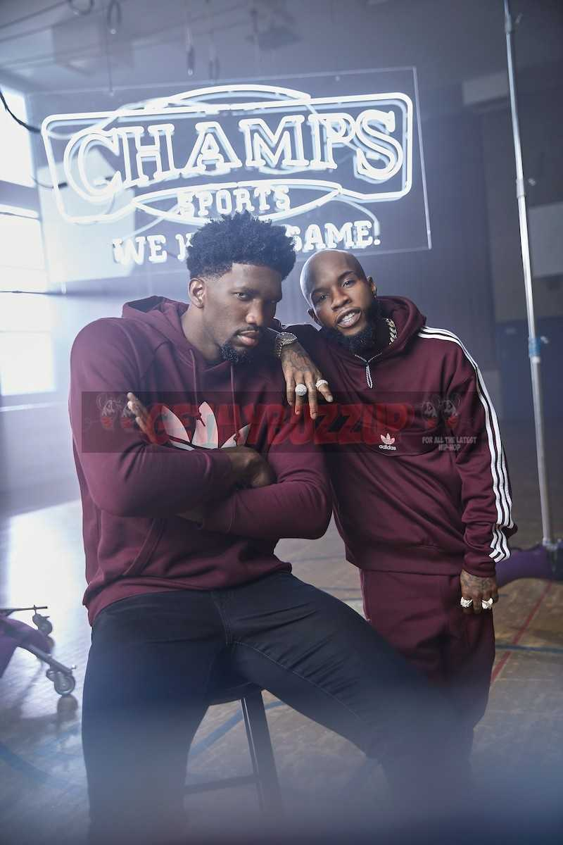 """Tory Lanez & Joel Embiid Debuts """"The Process"""" (Champs Sports and adidas Originals: The Moment Part 6)"""