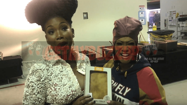 Patti LaBelle Gifts Brandy Norwood a #PattiePie [Video]
