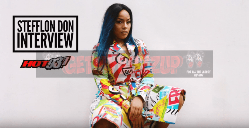 "Stefflon Don Talks ""Hurtin' Me,"" On The Hot Afternoon Show [Interview]"