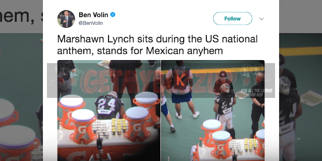 Donald Trump Feels the NFL Should Suspend Marshawn Lynch For Anthem Protest