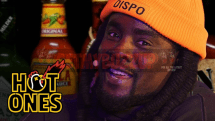 Wale Takes the Wings of Death Challenge Live | Hot Ones