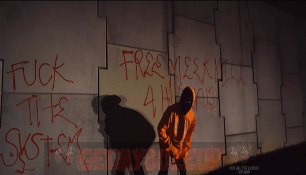 """YG SHARES """"FREE MEEK"""" VIDEO SUPPORTING 4HUNNID CLOTHING FALL/WINTER HOLIDAY '17 COLLECTION"""