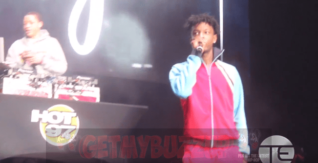 21 Savage Closes Out Hot 97's 'Hot For The Holidays' Concert [Video]