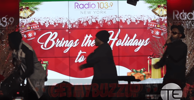 Dru Hill Performing Live @ Radio 103.9 NY Christmas Party [Video]