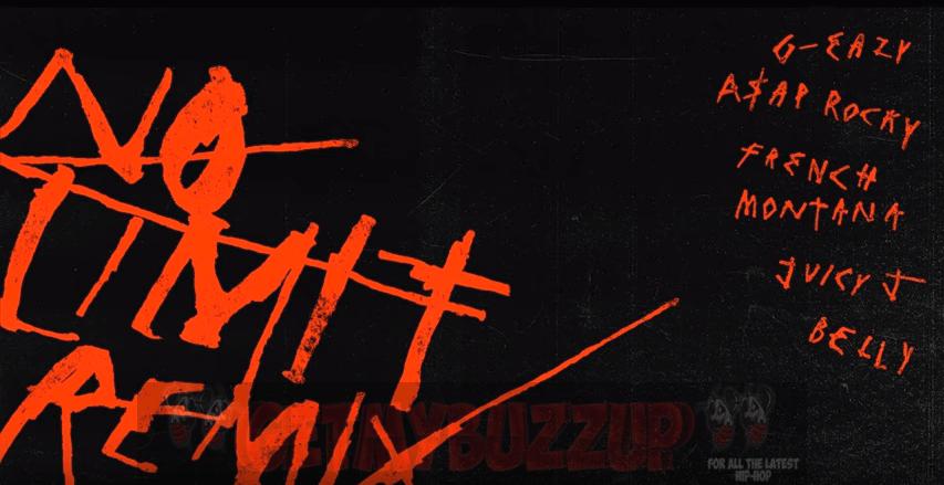 G-Eazy ft. A$AP Rocky, French Montana, Juicy J, Belly – No Limit (Remix) [Audio]