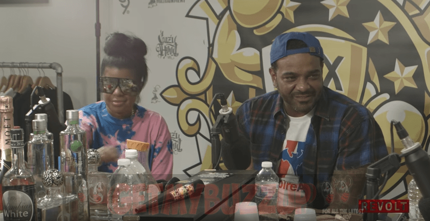 Jim Jones & Chrissy Lampkin on the Drink Champs [Interview]