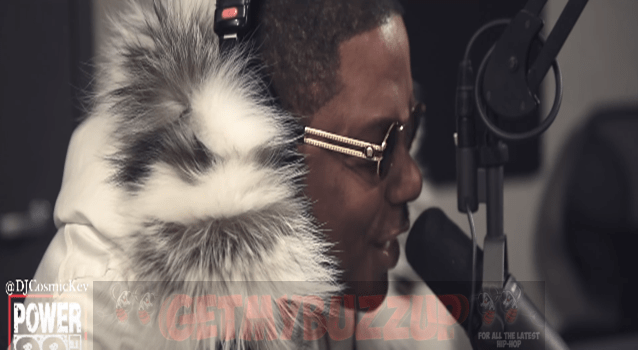 "Ma$e Freestyling Live on Nicki Minaj's ""Truffle Butter"" with Cosmic Kev on the Come Up Show"