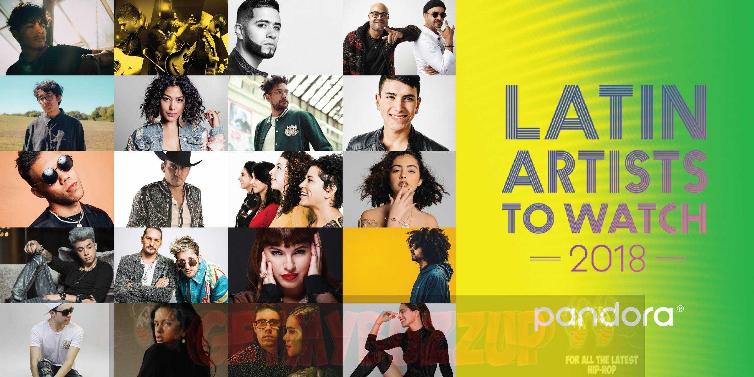 Melymel, A.CHAL, COASTCITY, & Jesse Baez are Pandora's Latin Artists to Watch 2018!