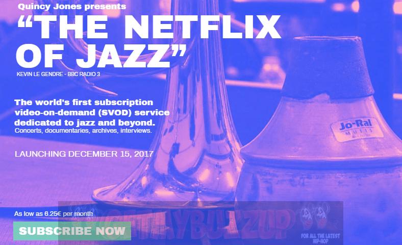 "Quincy Jones QWEST TV, ""The Netflix of Jazz,"" to Launch December 15 [News]"