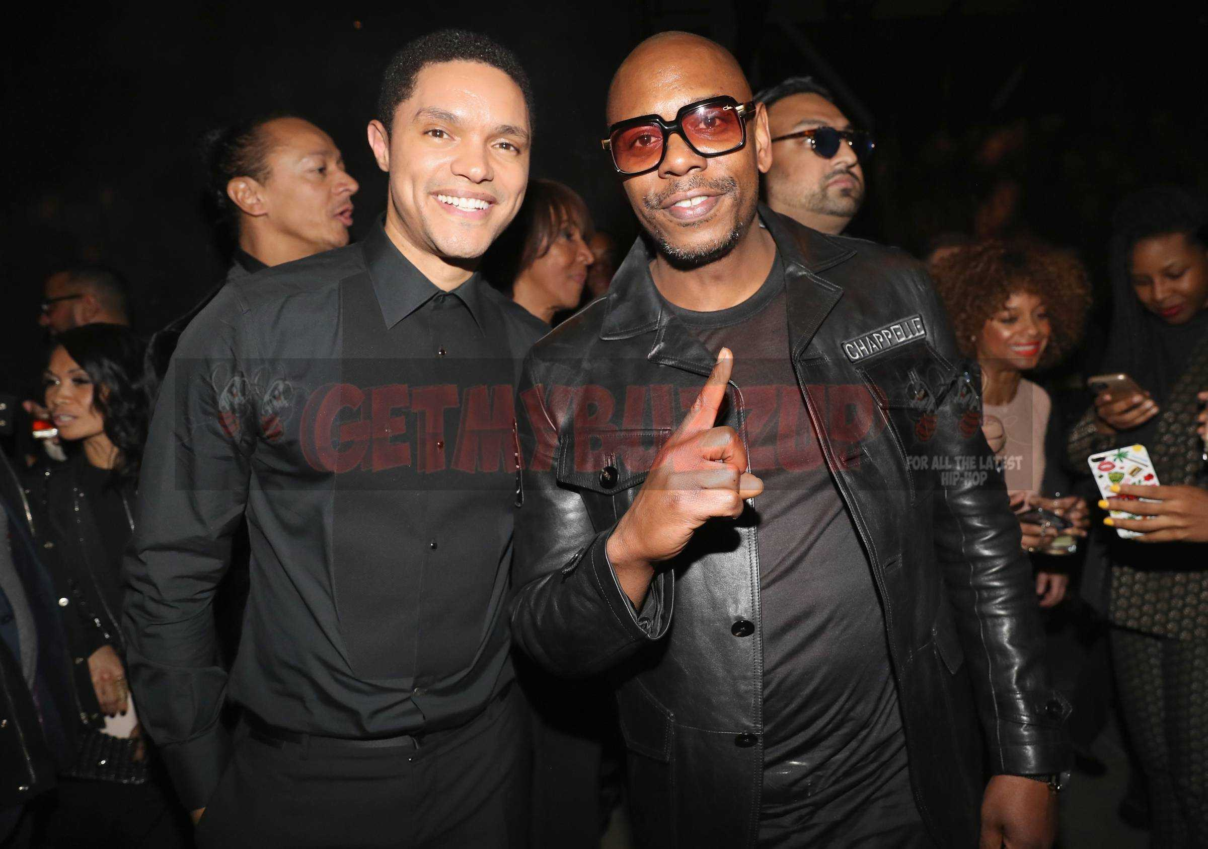 Dave Chappelle, Sarah Silverman, Trevor Noah, Lisa Loeb, Shanina Shaik, Erykah Badu Dapper Dan, Eve at the UMG 2018 Grammy After Party Supported by Rémy Martin [Photos]