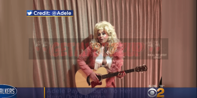 Adele Pays Tribute To Dolly Parton [Video]