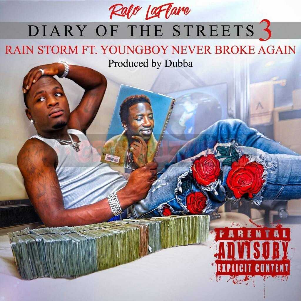 "Ralo – ""Rain Storm"" ft. YoungBoy Never Broke Again [Audio]"