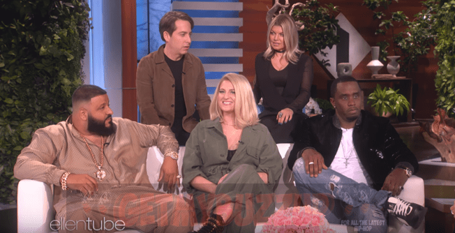 "The Cast of New TV Show ""The Four"" (Sean ""Diddy"" Combs, DJ Khaled, Meghan Trainor, Fergie & Charlie Walk) Stops by Ellen [Interview]"