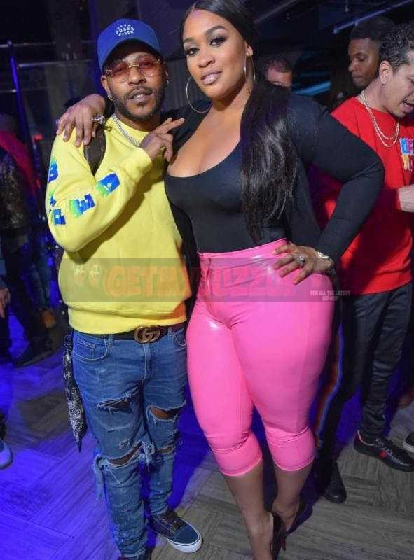 Eric Bellinger Pops In With His Team To Party At Suite 36 In New York [Photos]
