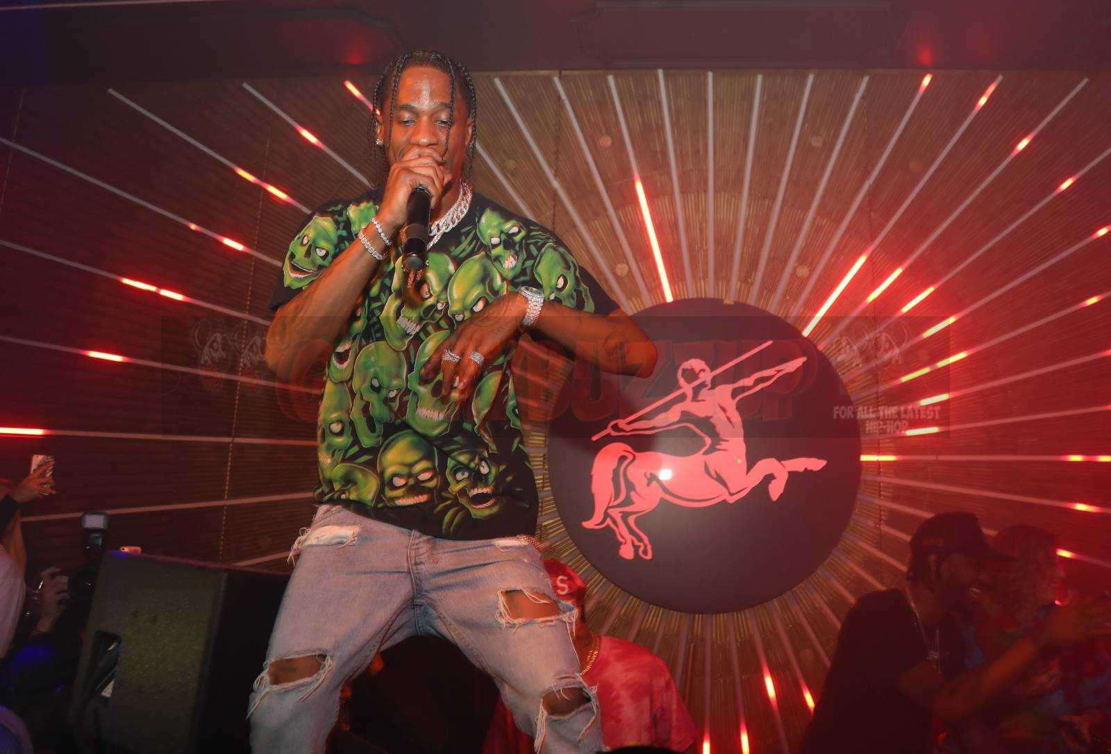 MVP Weekend with Travis Scott at Avenue Los Angeles presented by Rémy Martin [Photos]
