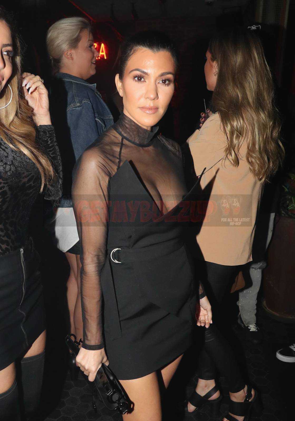 Kourtney Kardashian, Odell Beckham Jr., Pharrell Williams attend LIV on Sunday [Photos]