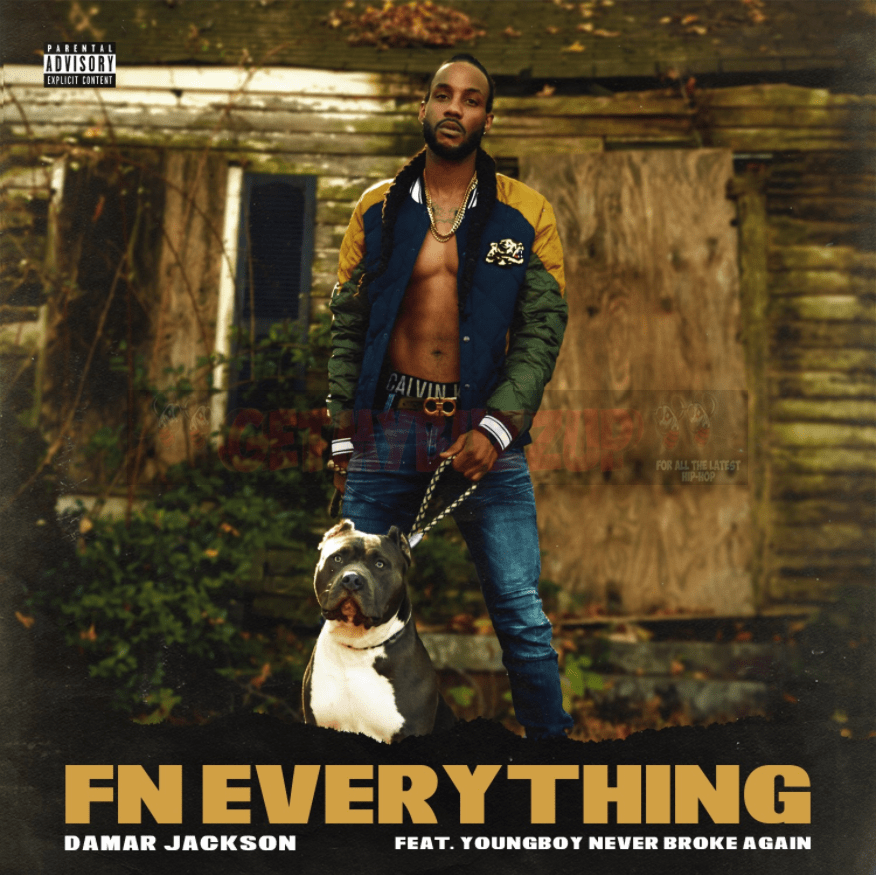 Damar Jackson – Fn Everything (feat. YoungBoy Never Broke Again) [Audio]