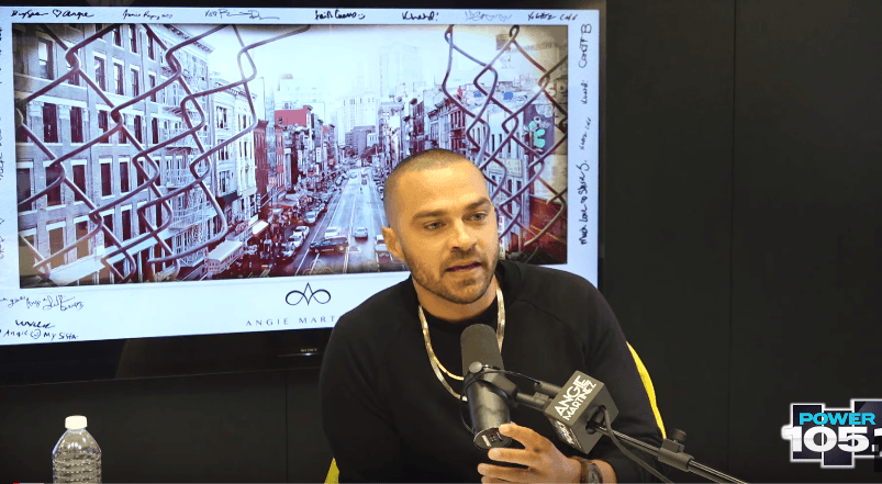 Jesse Williams Talks Black Panther, Fergie with Angie Martinez [Interview]