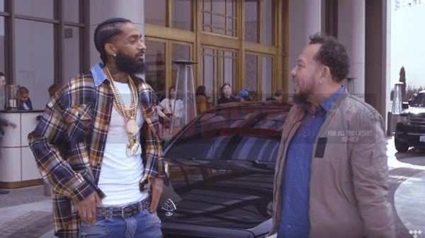 """Nipsey Hussle Talks """"Victory Lap"""" with Elliot Wilson on Car Test [Interview]"""