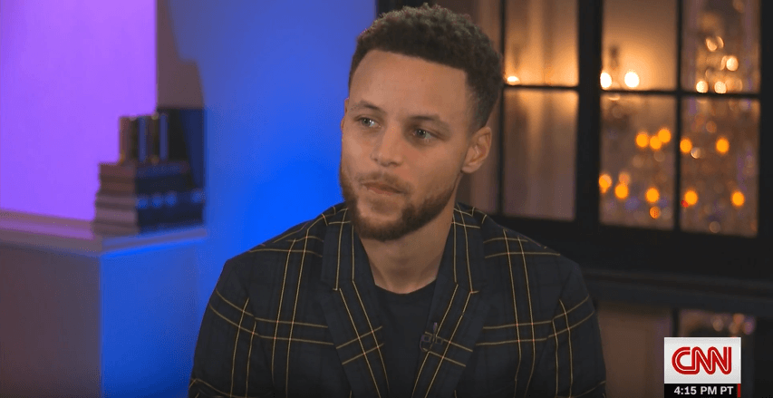 Stephen Curry Talks Trump Feud on CNN [Interview]