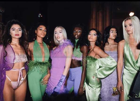 America's Next Top Model Alums Take the New York Fashion Week Runway for Adriana Sahar [Photos]