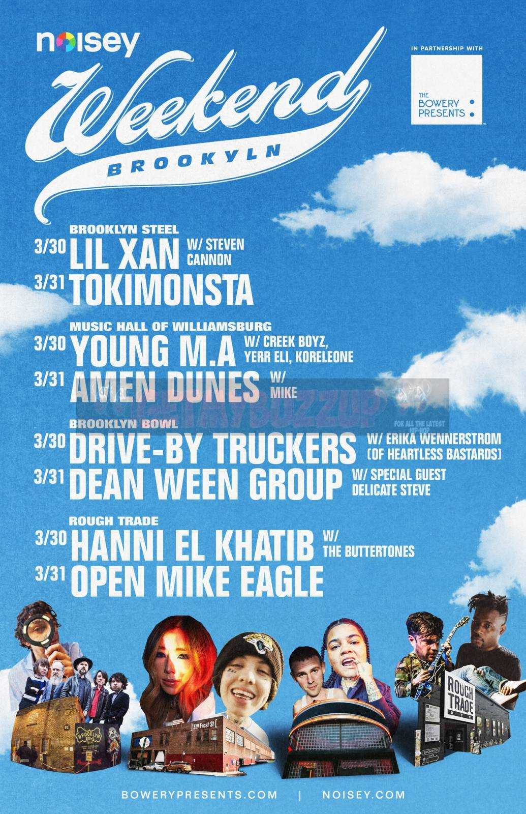 Young M.A., Drive-By Truckers, Lil Xan Join Noisey Weekend: Brooklyn [Event]