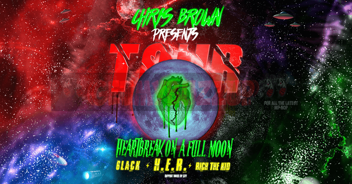 Chris Brown Announces Tour with 6lack, H.E.R. and Rich the Kid [Event]