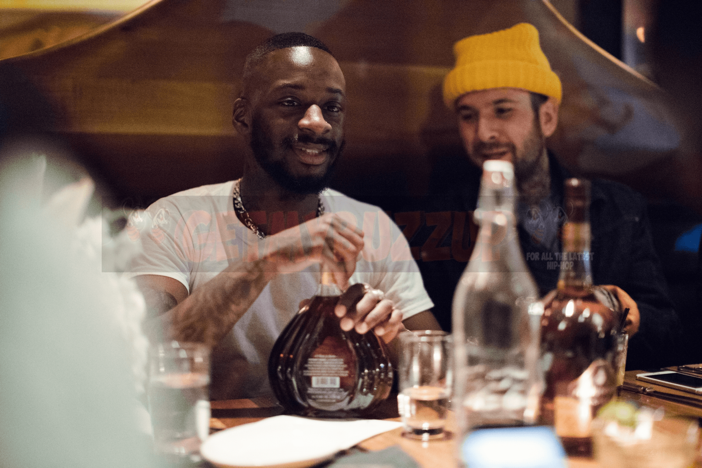 Rapper GOLDLINK Honors his Success in NYC with Courvoisier [Photos]