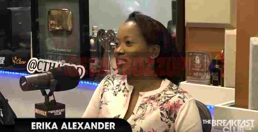 "Actress Erika Alexander Talks about being on ""Living Single"", Black Characters on The Breakfast Club [Interview]"