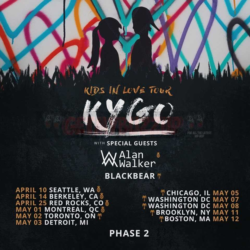KYGO Announces Phase 2 of Kids In Love Tour [Events]