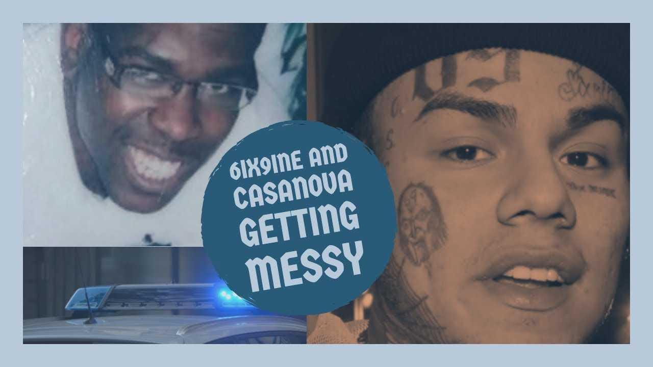 6IX9INE allegedly Talks to Cop, Casanova Claims he has Evidence, Tricking Each Other out The Game?