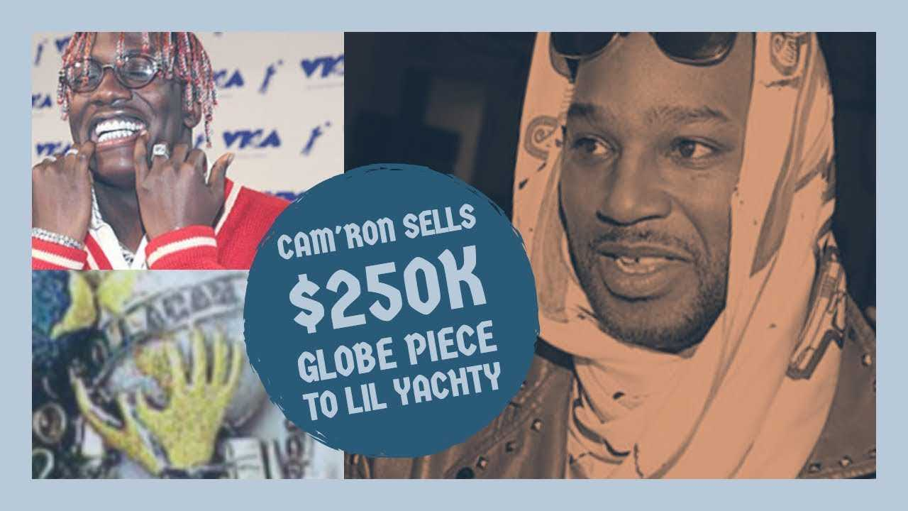 Cam'ron Sells Globe Jewelry Piece to Lil Yachty for $250k, Yachty Pays Homage to Dipset
