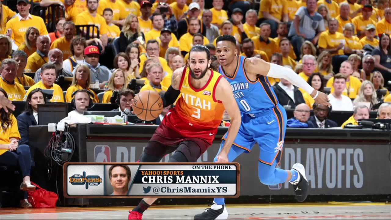 Chris Mannix On Jazz 3-1 Lead Over Thunder | The Dan Patrick Show | 4/24/18