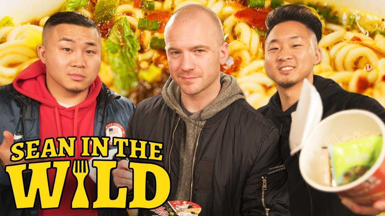 Fung Bros and Sean Evans Review International Instant Noodles   Sean in the Wild