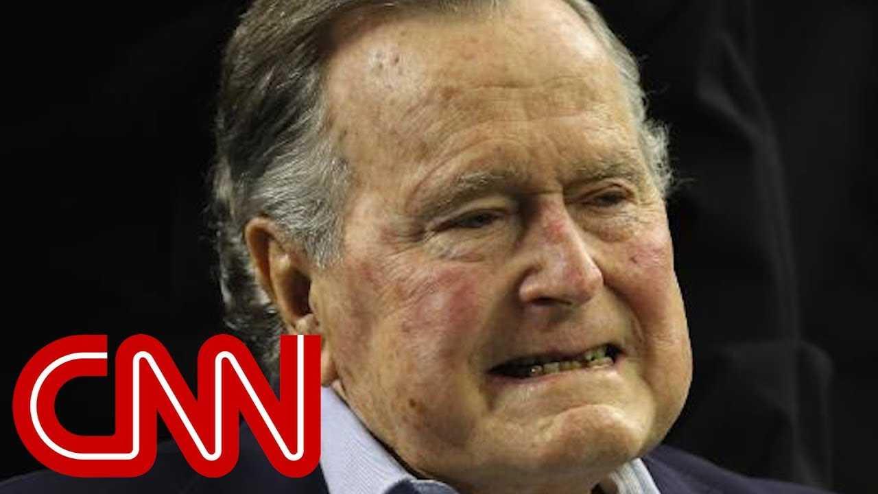 George H.W. Bush in intensive care
