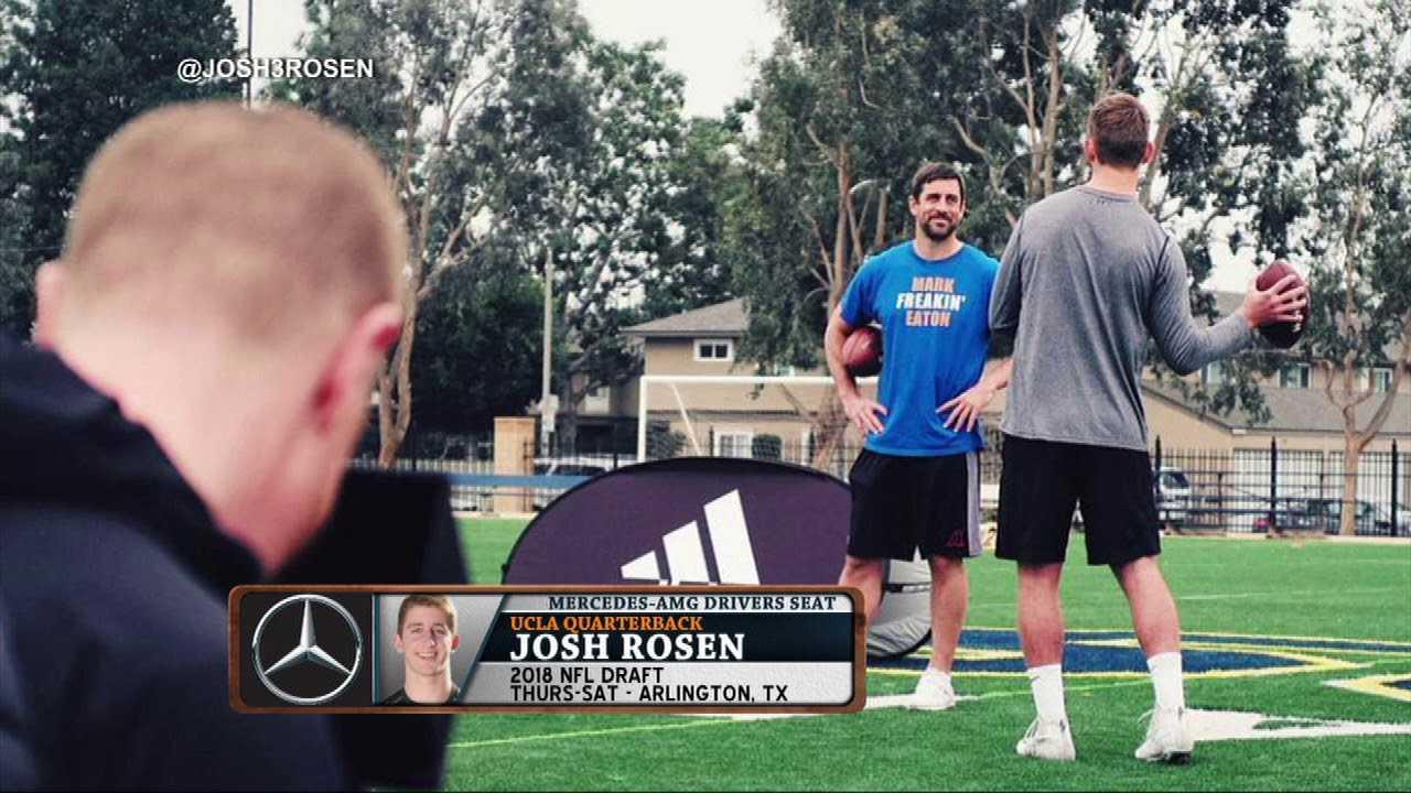 Josh Rosen On QB's He Looked Up To   The Dan Patrick Show   4/24/18