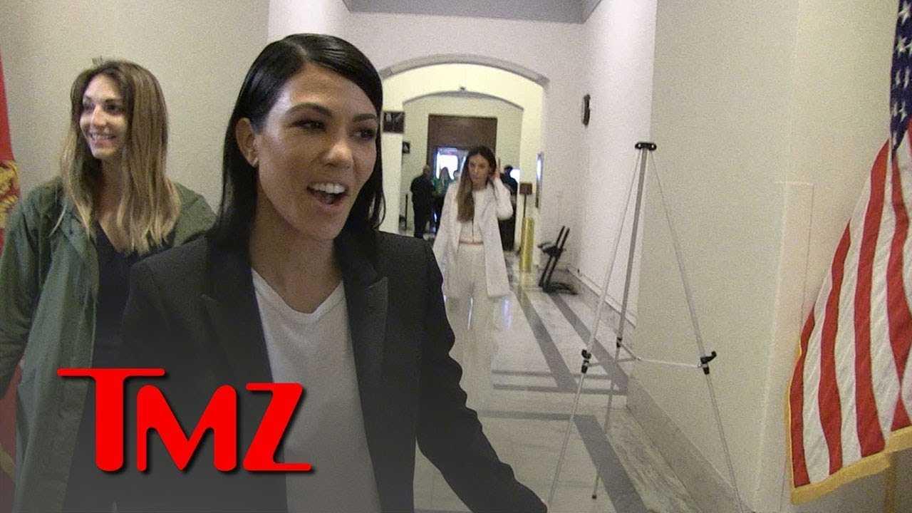 Kourtney Kardashian Bombarded For Selfies on Capitol Hill | TMZ