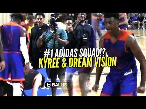 Kyree Walker & #1 Adidas squad DREAM VISION take down Basketball University at Adidas Gauntlet ATL!!