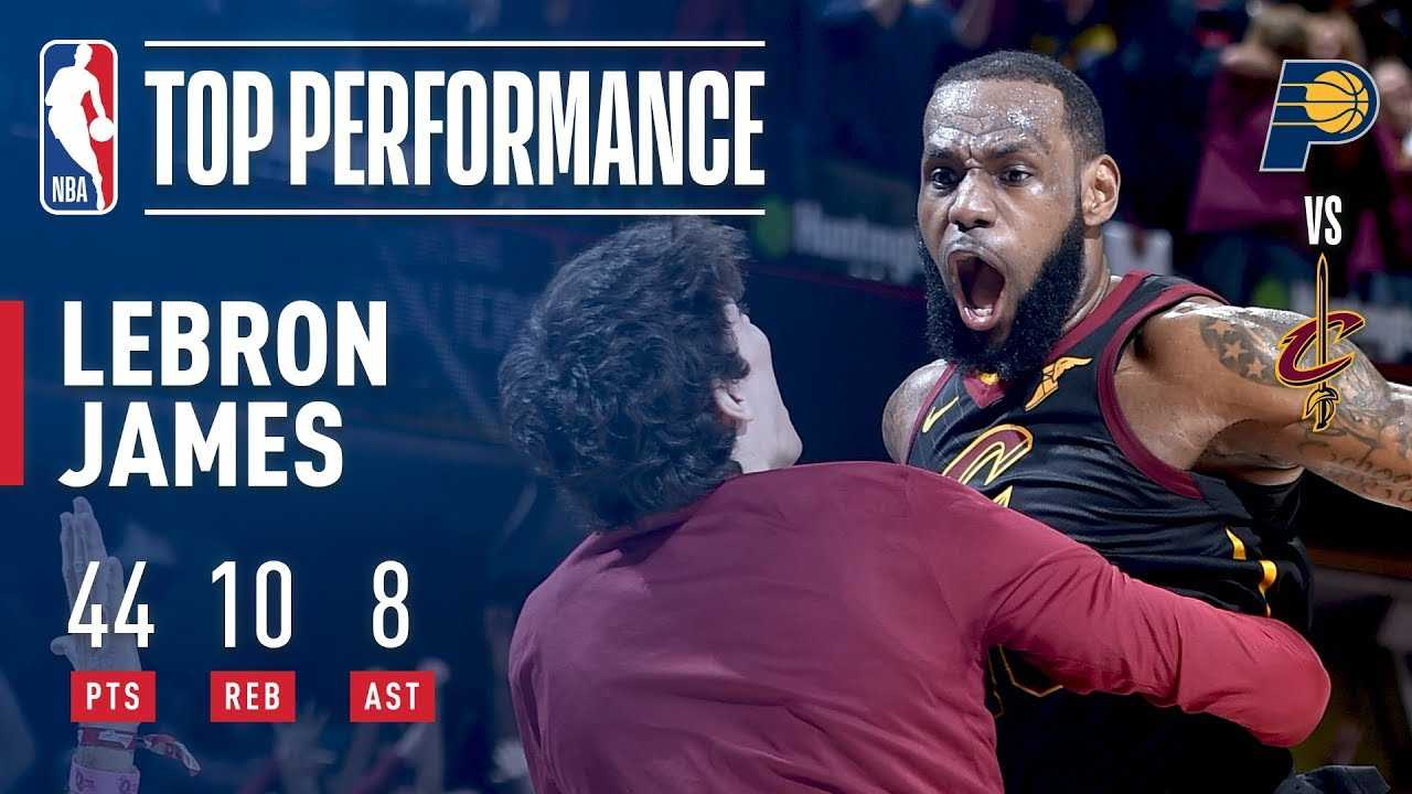 LeBron James 44 Points & A Game Winner!