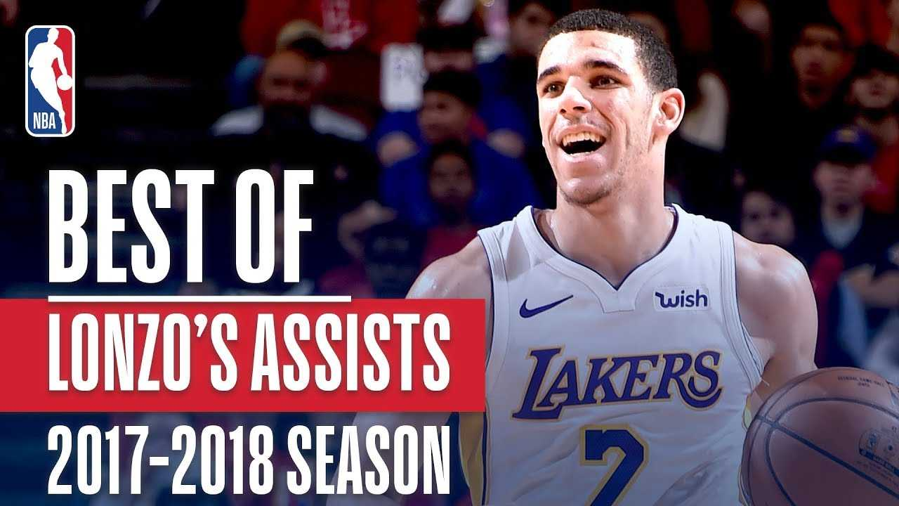 Lonzo Ball's Best Assists of the 2017-2018 NBA Regular Season!