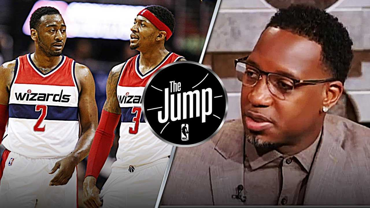 McGrady Says If Wizards Lose To Raptors; John Wall Or Bradley Beal Need To Be Traded | The Jump