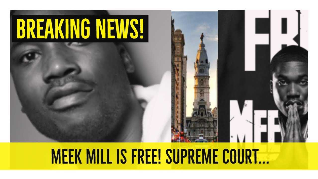 MEEK MILL IS FREE! Supreme Court Stepped In… 'Hold up Wait a Minute'