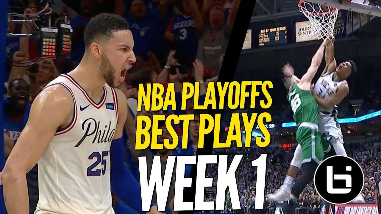 NBA Playoffs CRAZY TOP PLAYS! Best Plays From Week 1!
