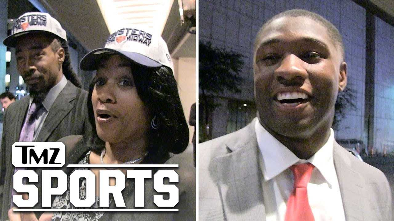 NFL Rookie's Mom Not Ready To Abandon Her Team For Son's New Team | TMZ Sports