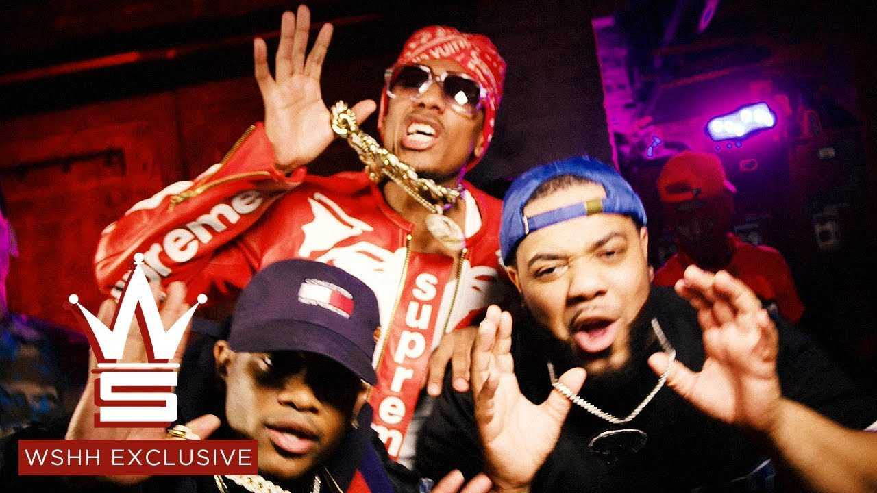 """Nick Cannon, Conceited, Charlie Clips, Hitman Holla """"Rock The Mic"""" (WSHH Exclusive – Official Video)"""