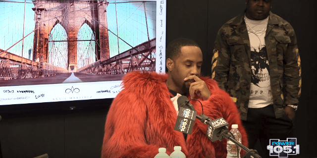 Safaree Talks Being Robbed At Gun Point with Angie Martinez [Interview]
