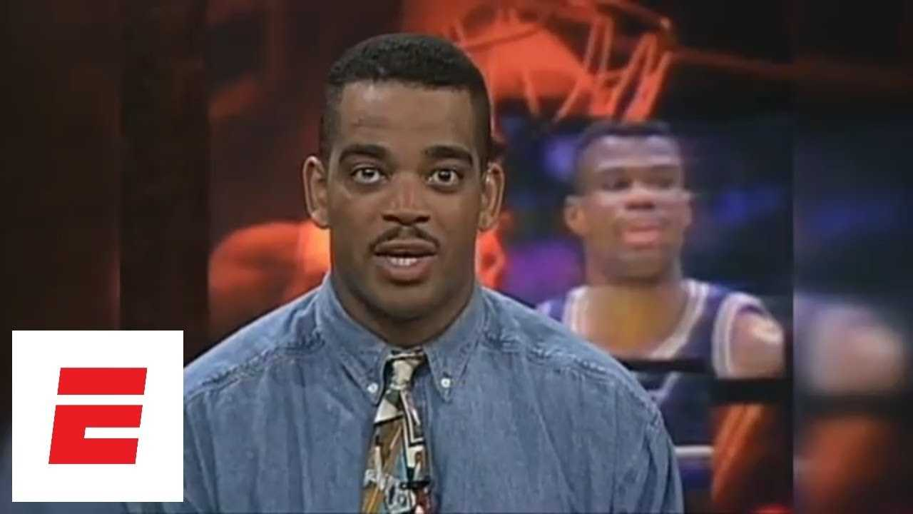 Stuart Scott reads 1994 highlight of David Robinson winning NBA scoring title | ESPN Archives