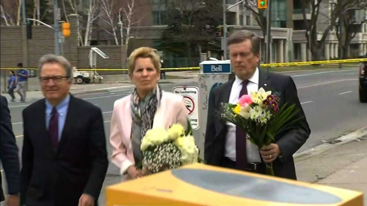 Toronto Officials Honor Van Attack Victims