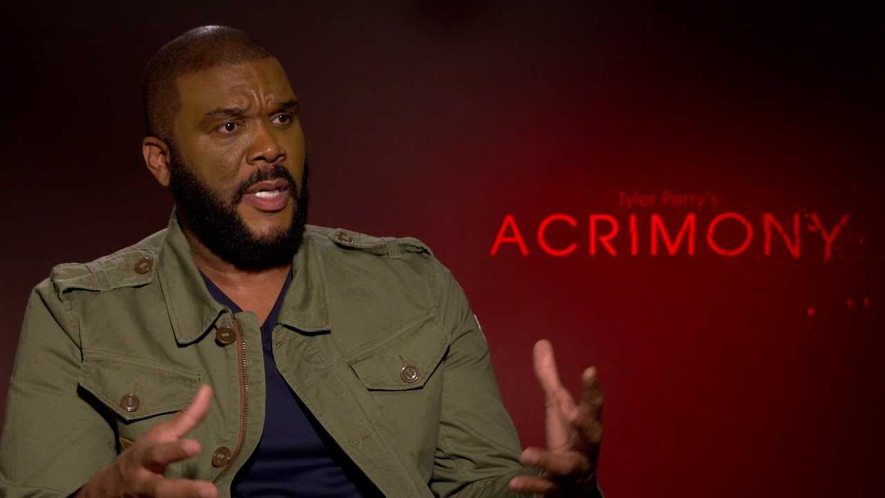 Tyler Perry talks Paving the way for Future Filmmakers | ACRIMONY